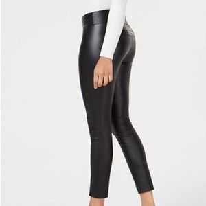 Bar III Faux Leather Pants